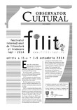 FILIT 2014: 1-5 octombrie