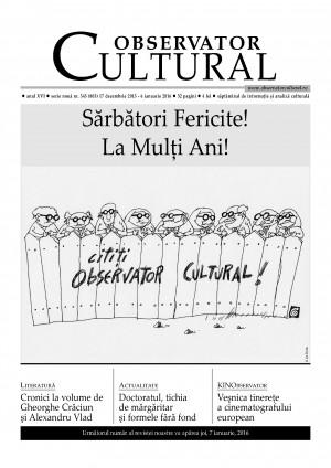 Observator Cultural - Nr. 803