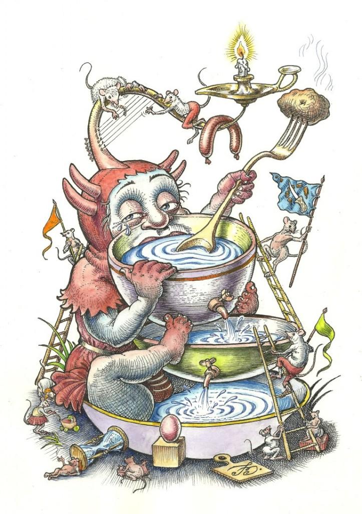 Tandem desen color 7 martie