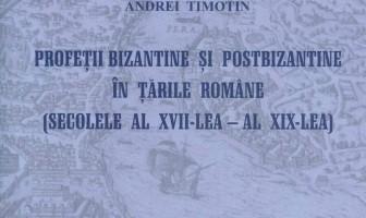 Profetii bizantine coperta